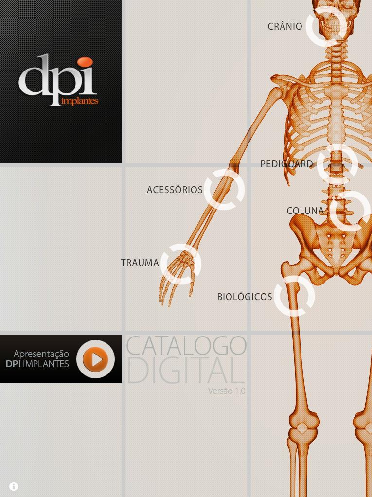 DPI Implants Sales Application