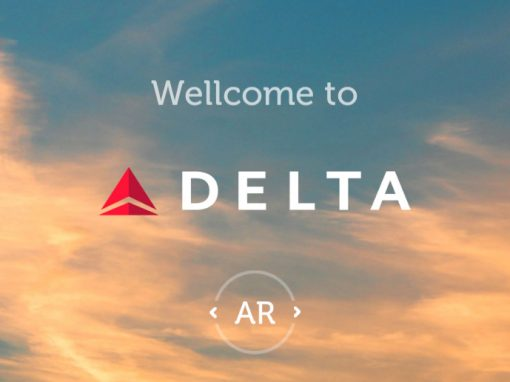 Augmented Reality Application Delta Airlines