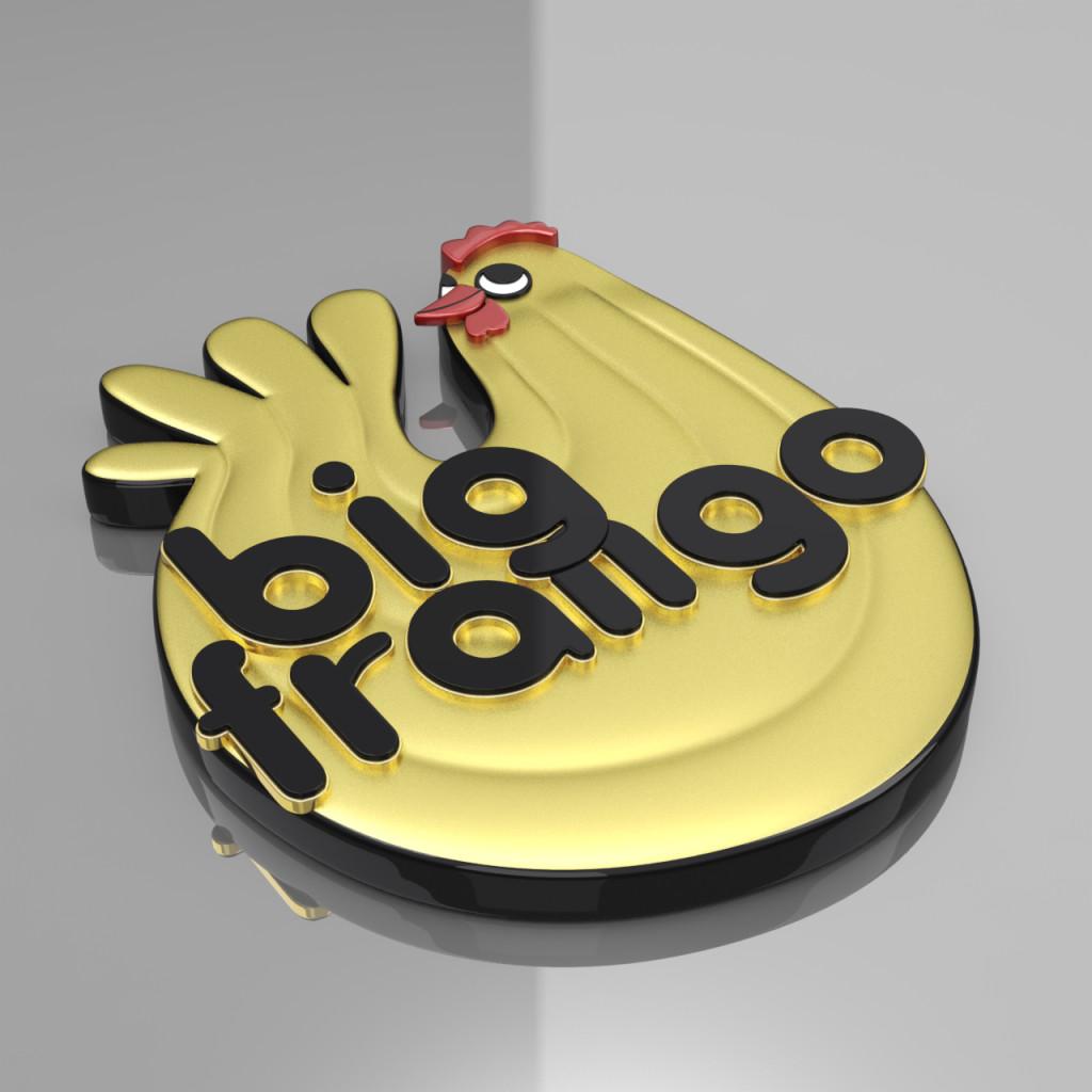 Logo 3D Big Frango
