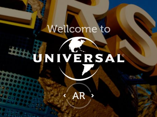 Application Augmented Reality Universal Studios