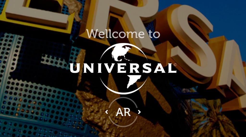 Application Augmented Reality Universal Studios